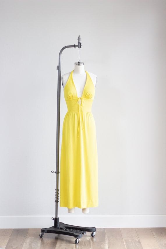 Catalina Swim Dress . Canary Yellow Maxi Dress . … - image 2