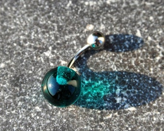 "Hula Pearl ""green lagoon"" navel piercing - a piece of jewelry"
