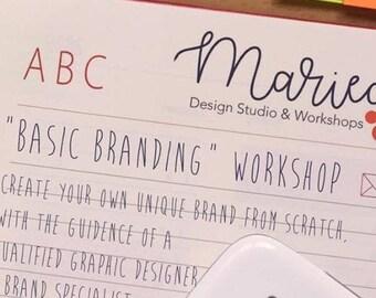 Online Virtual Workshop - Basic Branding