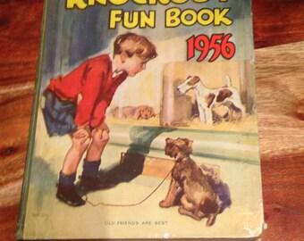 Knockout Fun Book 1956