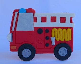 Edible fire truck   Etsy