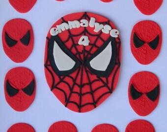 13 edible BATMAN kit marvel dc SUPERHERO comic cake cupcake topper decoration party wedding birthday engagement christening super hero