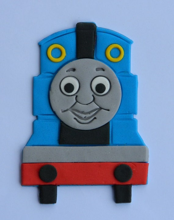 Prime 1 Edible Thomas Tank Engine Cake Cupcake Toppers Train Etsy Personalised Birthday Cards Sponlily Jamesorg