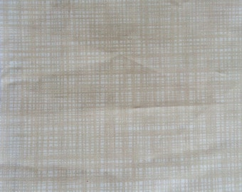 Orla Kiely printed fabric - scribble beige  *** SHIPPING INCLUDED***
