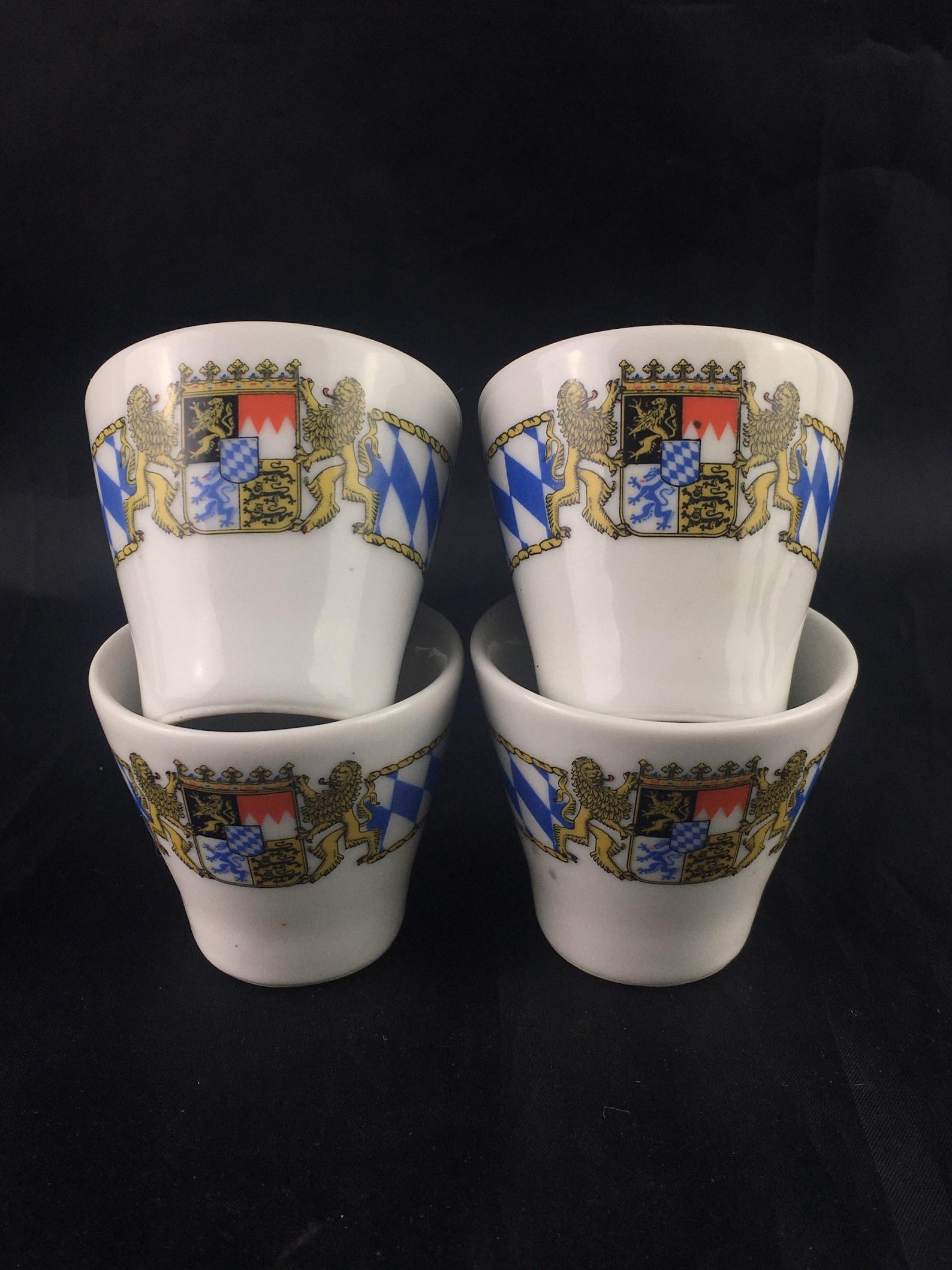Bavarian egg cups, German egg cups