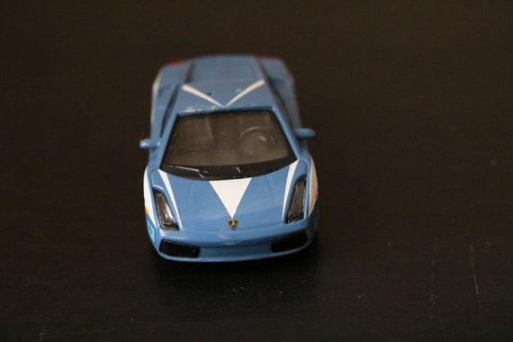 Collectable Small Model Car lamborghini Gallardo POLICE POLIZEI