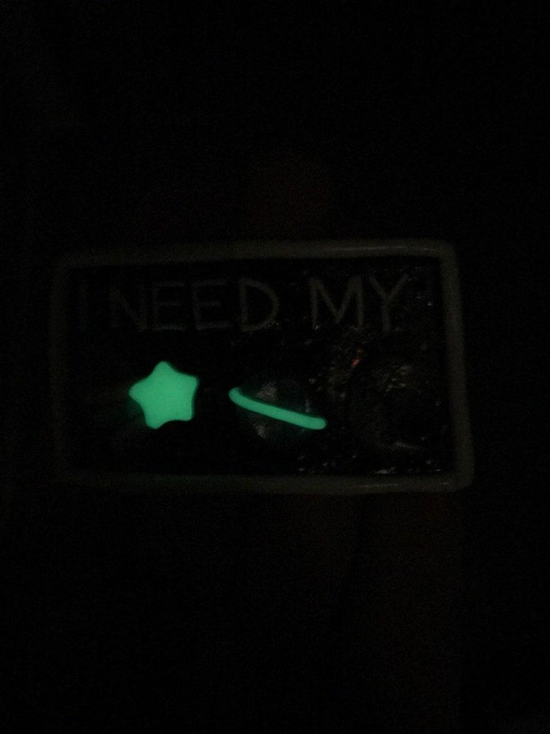 Polymer Clay \u201cI Need My Space\u201d Magnet