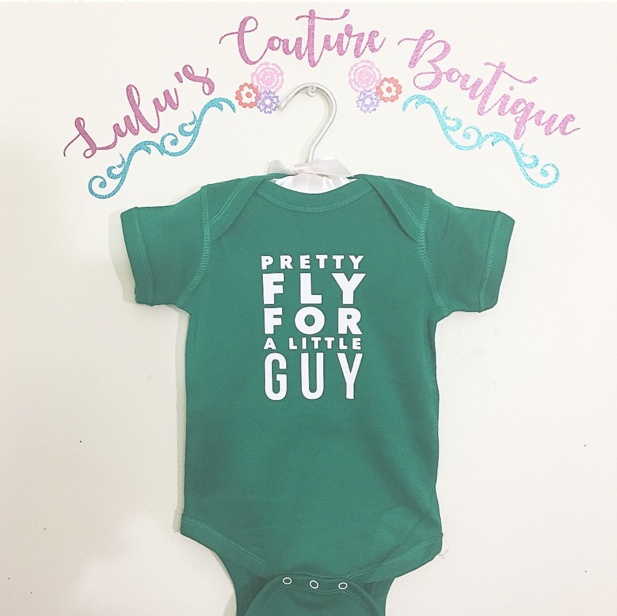 9ce875e185c7 Pretty Fly For a Little Guy New Baby Onesie newborn outfit coming ...