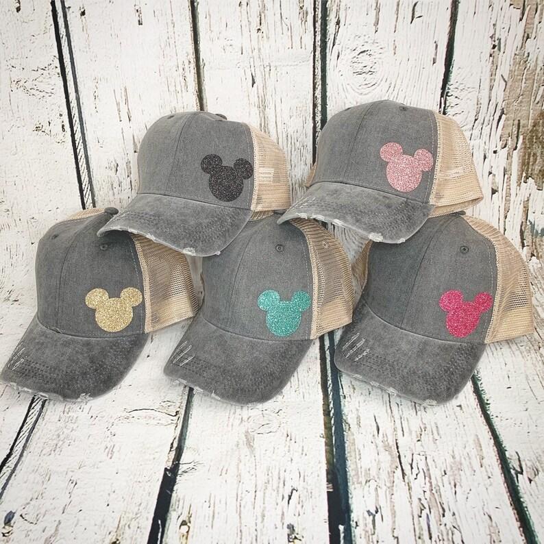 Mickey Mouse Trucker Hat women men baseball cap disney mom  1dd533070237