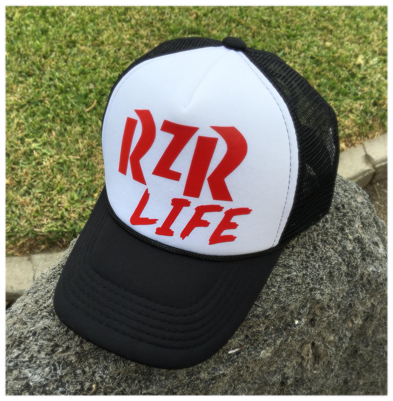 0ffbf1e1f9ef5 RZR life Trucker Hat