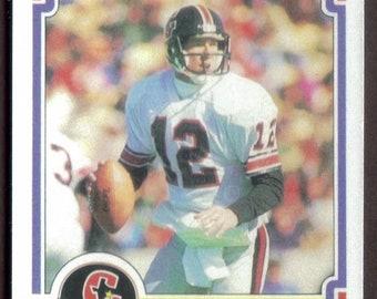 46465be23 JIM KELLY Rookie RP  36 Gamblers Bills 1984 USfl Free Shipping