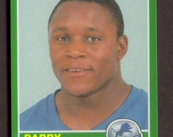 BARRY SANDERS Rookie RP #257 Lions 1989 S Free Shipping