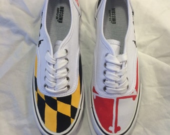 Maryland Flag Sneakers