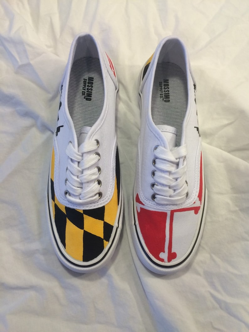 d46fbc5408 Maryland Flag Sneakers