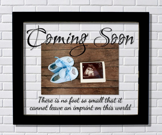 Coming Soon Frame Floating Frame Baby Frame Baby Birth Etsy