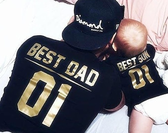 Dad And Son Etsy