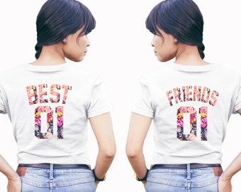 7b230fff BEST FRIENDS shirts, best friends matching shirts, friends shirts, beste  freunde shirts, best friends t-shirt, besties shirts, friends tees