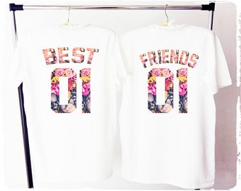 8d55fbe245a Best friends shirts besties shirt bff shirts best friends matching shirts  best friend gift best friend shirt bestie shirts best friends tees
