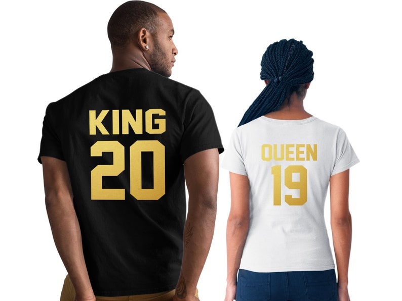 4a1e5954508 King and Queen shirts King Queen shirts Couples shirts