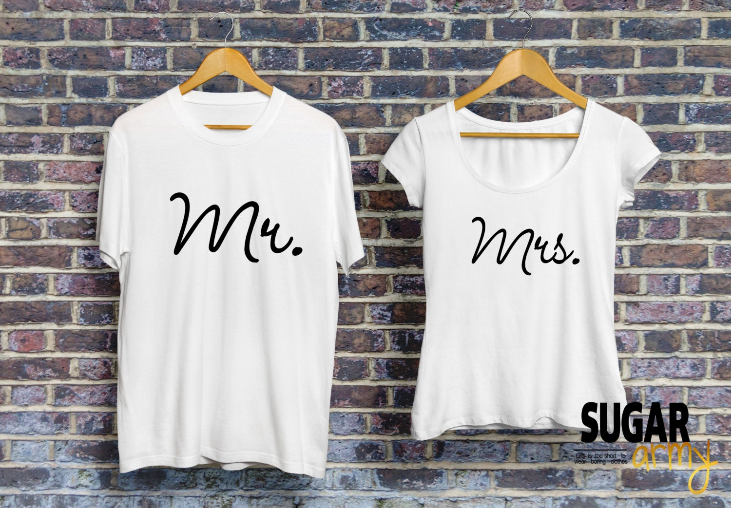 24359fdc Mr and Mrs shirts for couples matching couple shirts husband   Etsy