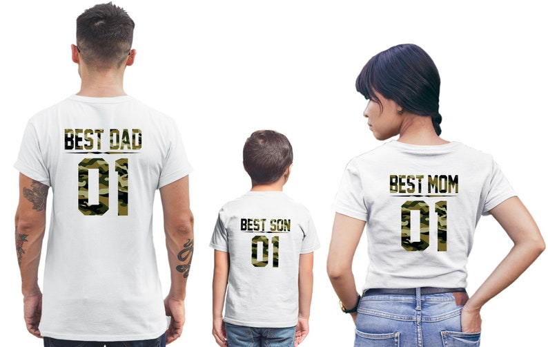 Mom Dad Baby Shirts Baby Shower Gifts Family Outfit Family Etsy