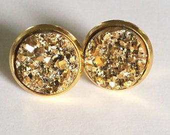 Gold Druzy