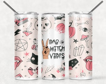 Witch Vibes Tumbler