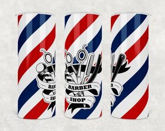 Barber Pole Tumbler