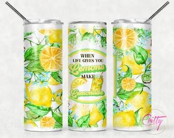 When Life Give Lemons 2 Tumbler
