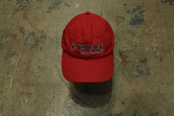 90's Polo Sport 3M strap back hat