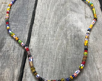 African small beads multi colors