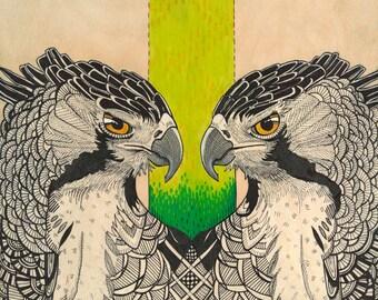 Bound Fine Art Giclee Print