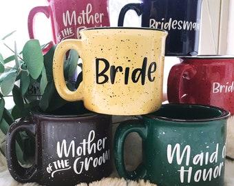 Bridesmaid gift | personalized mug | custom mug | bridesmaid mug | bridal party gifts | bachelorette party | bridesmaid | groomsman gift
