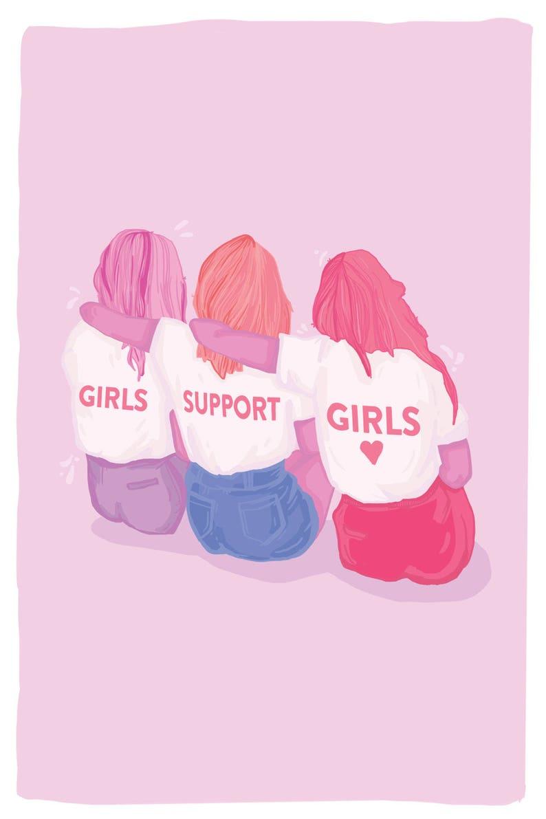 Najlepsi przyjaciele dziewczyny
