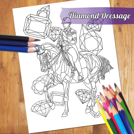 eventing coloring pages - photo#30