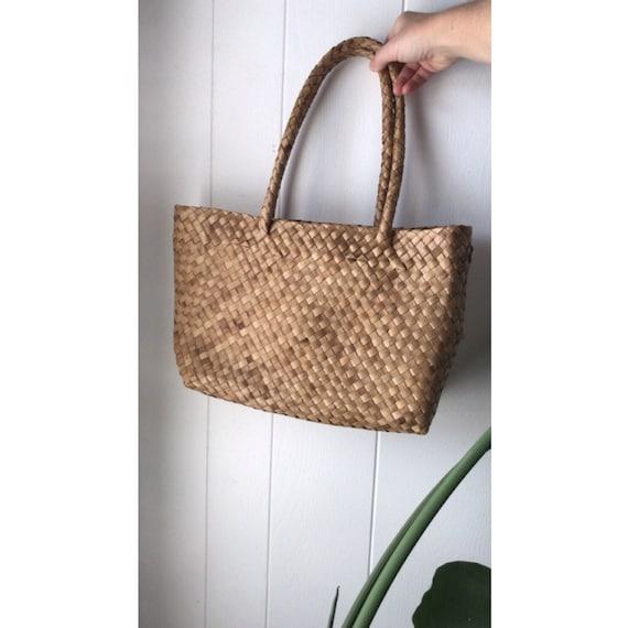 Wicker Bag | Vintage | Market Bag | Wicker Purse