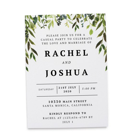 Wedding Invitation Cards By Loveateverysightpost Marriage Etsy
