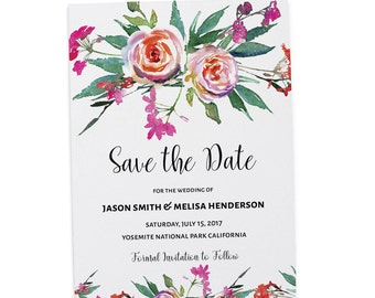 Save the Date Wedding Cards , Save the Date Cards, Personalized Save the Date Cards #32
