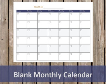 monthly study plan etsy