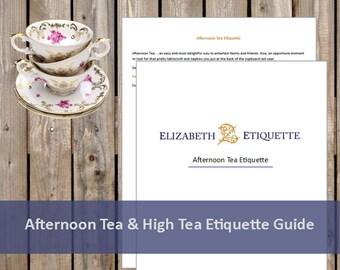 Elizabeth Etiquette