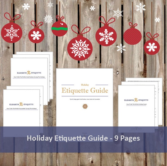 The perfect guide to holiday etiquette youtube.