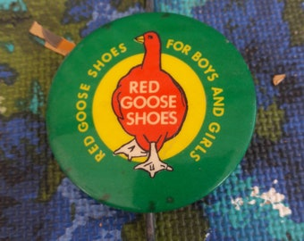 494ffa019ad Vintage 1950 s Red Goose Shoes advertising Hanger hook. Very good  condition. L  K!