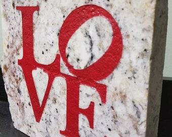 Home & Garden Stone LOVE Granite