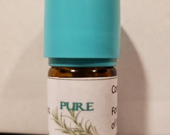 Pure and Fresh Organic Essential Oil Blend, Lemongrass, Rosemary, Tea Tree, Lavendin, Myrtle and Citronella