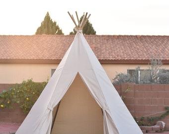 10u0027 Saguaro Canvas event teepee wedding teepee Hexagon bottom  sc 1 st  Etsy & Adult teepee   Etsy