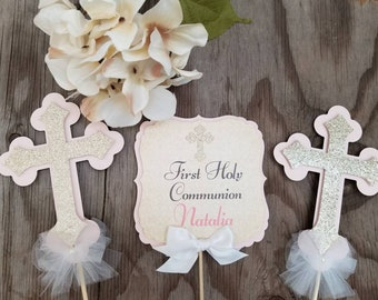 First Communion Decorations Girl Etsy