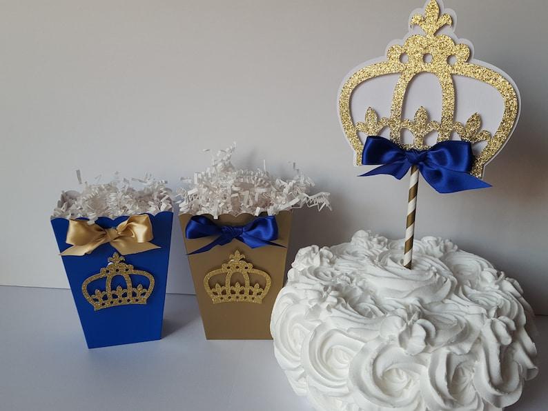 Royal Prince Crown Cake Topper-Royal Prince Cake Topper ...
