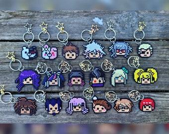 Danganronpa 2 Character Pixel Keychains