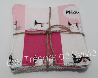 4 Make-up remover pads / wipes - 4 Make-up removing pads / wipes