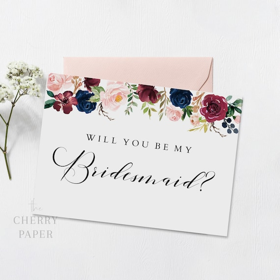 It is a picture of Free Printable Bridesmaid Proposal with regard to sister